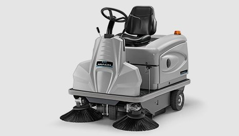 Mach 3 Floor sweeper in grey colour