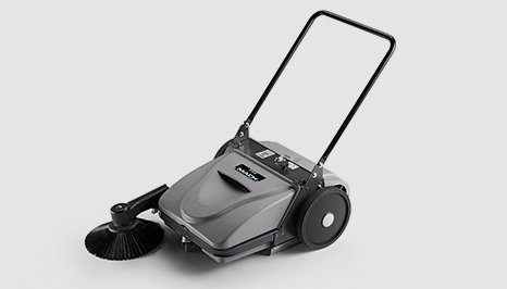 Mach MEP Small floor sweeper in grey colour
